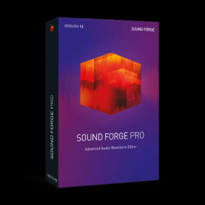 经典音频编辑软件 MAGIX SOUND FORGE Pro v12.0.0 PC