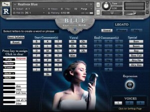歌声合成器 RealiTone RealiVox Blue (Player Edition) KONTAKT