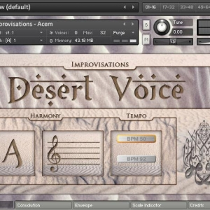 沙漠之声Sonokinetic Desert Voice KONTAKT PC/MAC