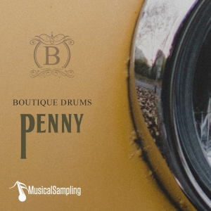 六七十年代精品摇滚鼓 Musical Sampling Boutique Drums Penny KONTAKT